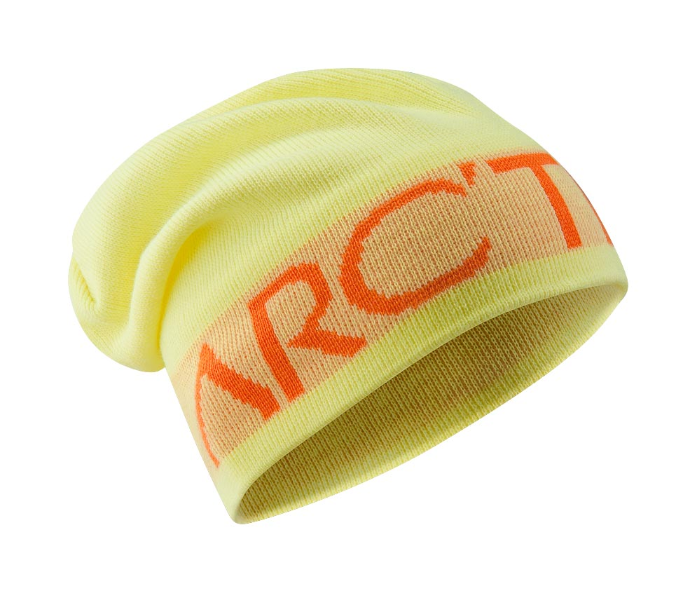 Arcteryx Mellow Yellow Word Head Long Toque
