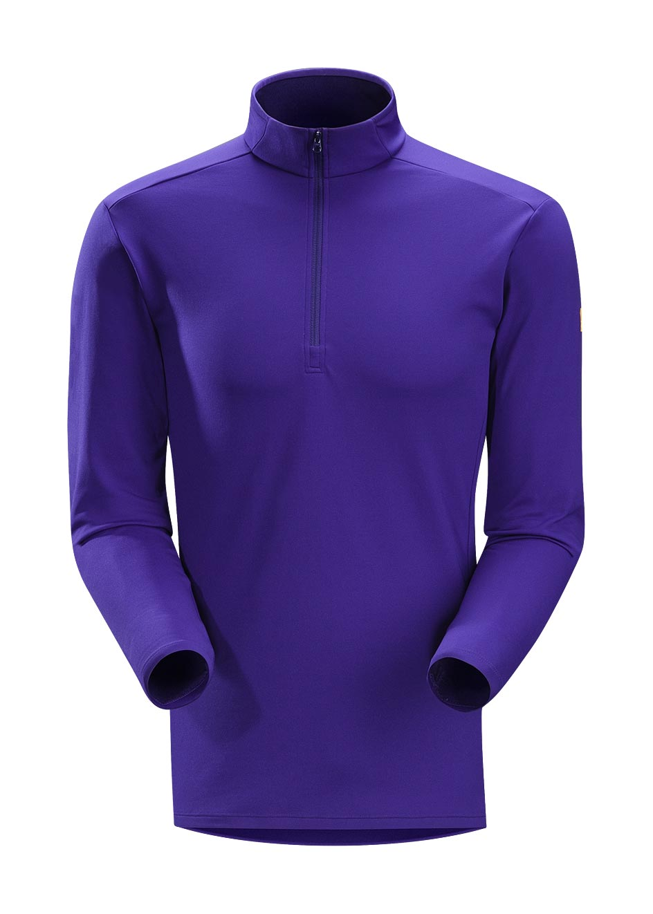 Arcteryx Squid Ink Phase AR Zip Neck LS